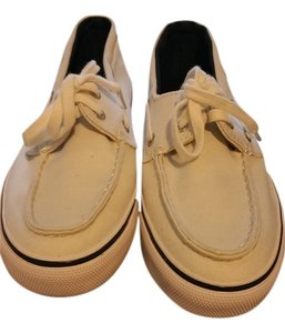 Sperry Top Sider Womens White Flats