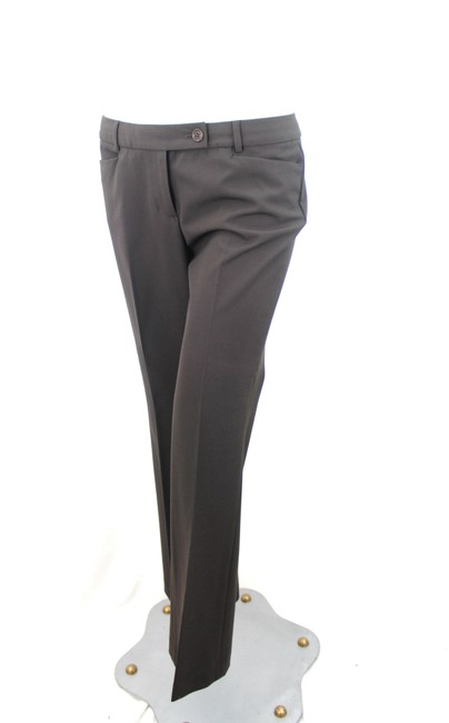 Unknown Straight Pants Brown