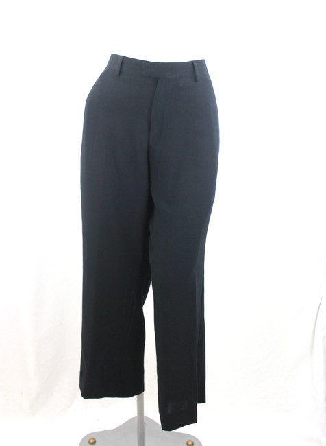 Armani Straight Pants Black