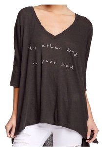 Wildfox T Shirt DIRY BLACK