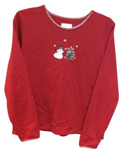 Christopher & Banks Cute Adorable Warm Tacky Christmas Party Winter Wear Sweatshirt