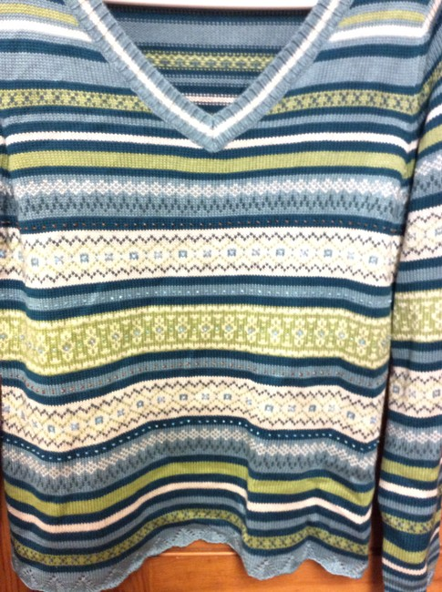 Christopher & Banks Excellent Condition Like New Soft Beaded Sequins Sweater