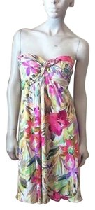 Blumarine short dress Multicolor on Tradesy