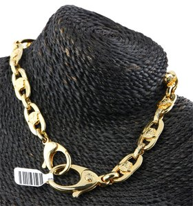 Versace Versace Gold Tone Necklace