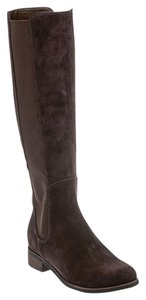Cole Haan Womens Suede Brown Boots