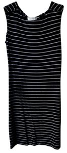 Calvin Klein short dress black and white Stripe Nautical Summer on Tradesy