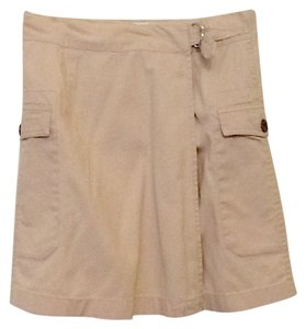 DKNY Mini Skirt Tan