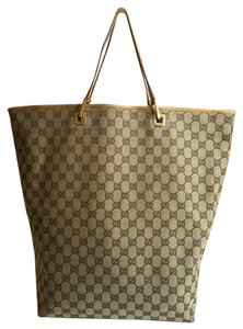 Gucci Beige Tote in Beige, Brown