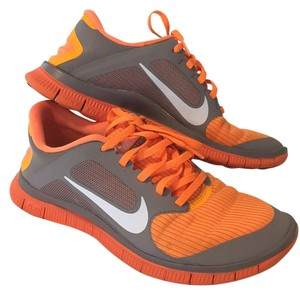 Nike Free 4.0 Orange Athletic