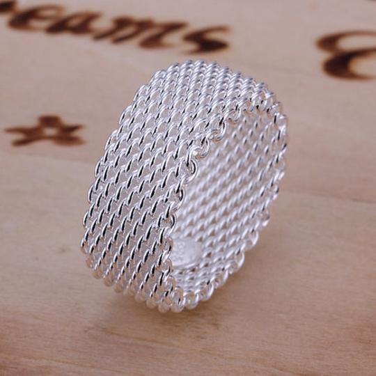 Preload https://item2.tradesy.com/images/silver-bogo-free-mesh-free-shipping-ring-1445281-0-0.jpg?width=440&height=440