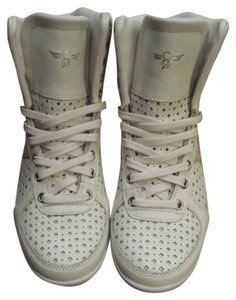 Creative Recreation Sneaker High Top Ladies High Tops Perforated Vintage White Athletic