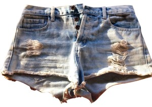 Forever 21 Cut Off Shorts Distressed light blue