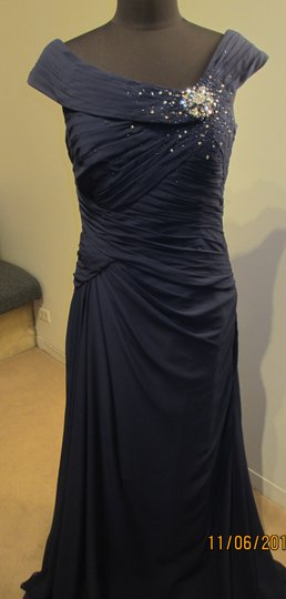 Rina DiMontella Navy 1621 (rina7s) Dress