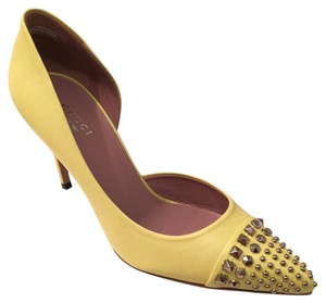 Gucci Mimosa Yellow Pumps