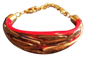 Murano glass Murano authenic glass bracelets, both are adjustable, priced per bracelet.free shipping