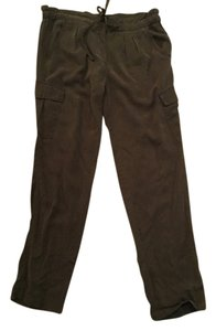 Sanctuary Clothing Cargo Straight Leg Cargo Pants Green