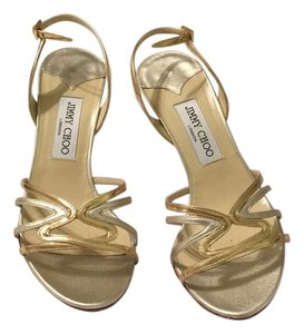 Jimmy Choo Silver and gold Formal