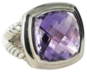 David Yurman David Yurman sterling silver Amethyst ring
