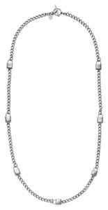 Michael Kors NWT MICHAEL KORS SILVER PADLOCK CHAIN NECKLACE MKJ3725040