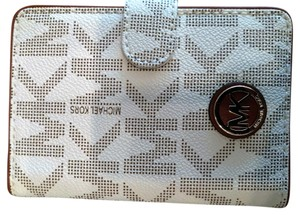 Michael Kors MK Logo Passport Wallet