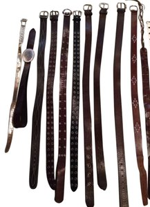 Abercrombie & Fitch Leather belts