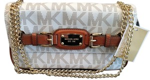 Michael Kors Monogram Logo Shoulder Bag