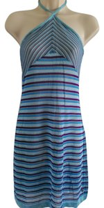 Donna Relay short dress Blue and Purple European on Tradesy