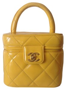 Chanel Satchel in Yellow