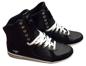 Creative Recreation Sneaker High Top Ladies Perforated Black Athletic