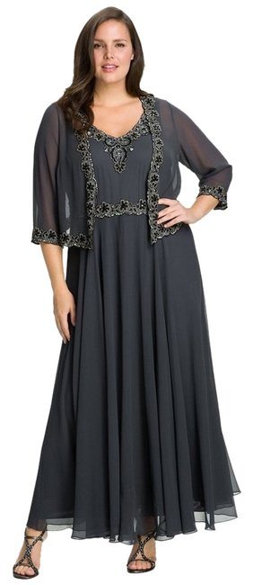 JKara Mother Of The Bride And Jacket Set Plus Size Dress