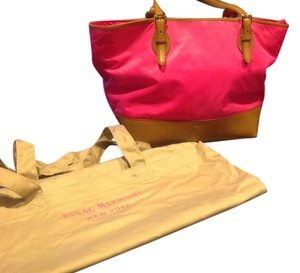 Isaac Mizrahi Tote in Hot Pink