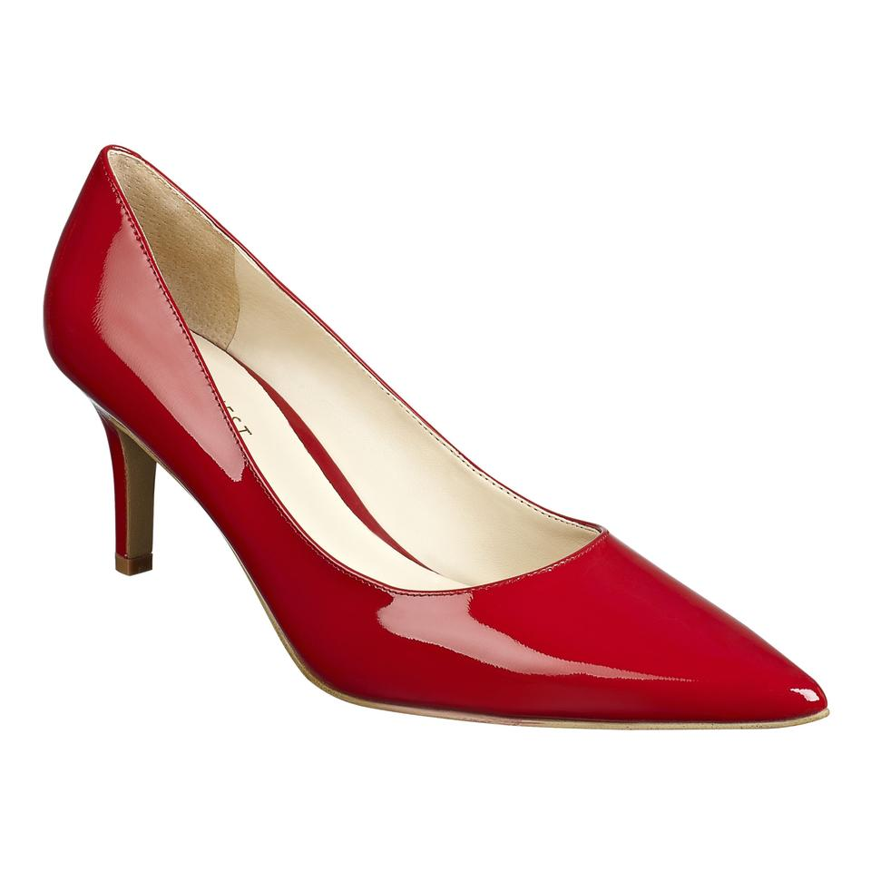 0a95bd69950 Nine West Red Patent Leather Adriana Pumps Size US 9 Regular (M