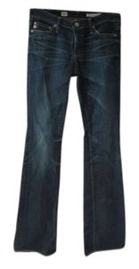 AG Adriano Goldschmied The Angel Demin 27r Boot Cut Pants Dark Blue