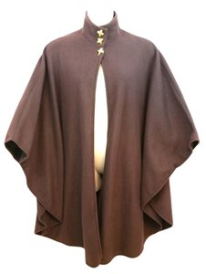 Lord & Taylor Brown Poncho Cape
