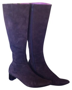 Boden Suede Leather Knee High Brown Boots