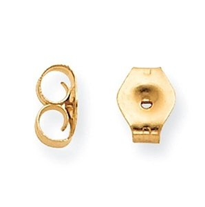 Jewelry N Beyond Friction nut Backs, ear nuts in 14K Yellow Gold.