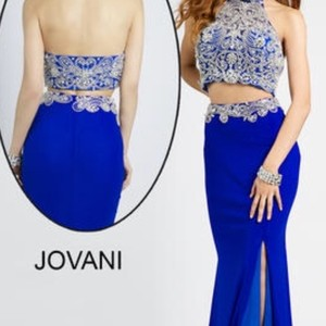 Jonathan Kayne Blue Dress
