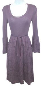 M Missoni short dress Purple M on Tradesy