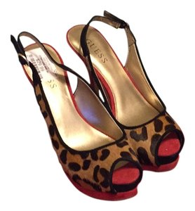 Guess Cheetah Platforms
