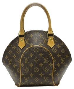Louis Vuitton Elipse Oyster Octagon Lv Satchel in Brown