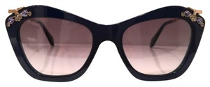 Miu Miu Cat Eyes Crystal Embellishment