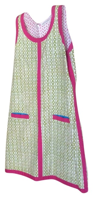 Gretchen Scott short dress Green/ pink on Tradesy