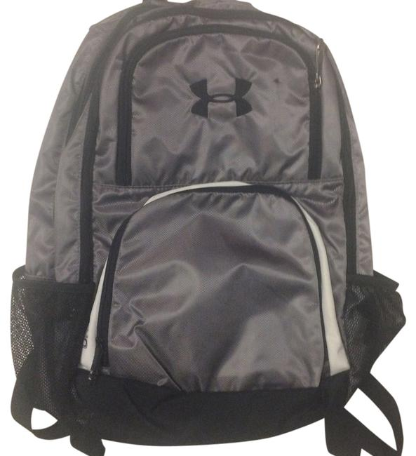 Item - Victory Grey Nylon Backpack