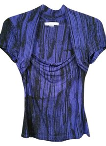 Kenneth Cole Cotton Stretchy Top Purple