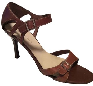 Anne Klein Camel Brown Sandals