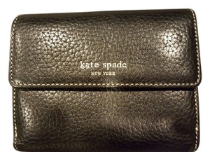 Kate Spade Like new Kate Spade black leather wallet