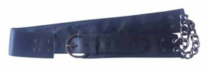 Miley Cyrus & Max Azria Wide Waist Belt Size Large