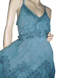 teal blue or teal green Maxi Dress by Other