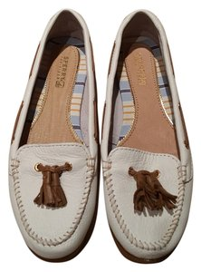 Sperry White Flats