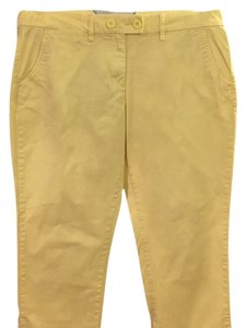 Tommy Hilfiger Capris Yellow